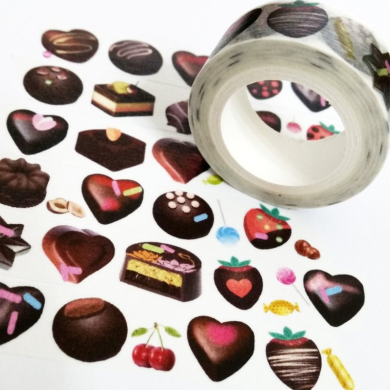 Sample Washi Tape Sweetheart Chocolate