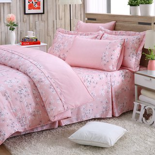 Large size fresh flower bud (powder) - Tencel dual-use bedding set of six [100% lyocell]