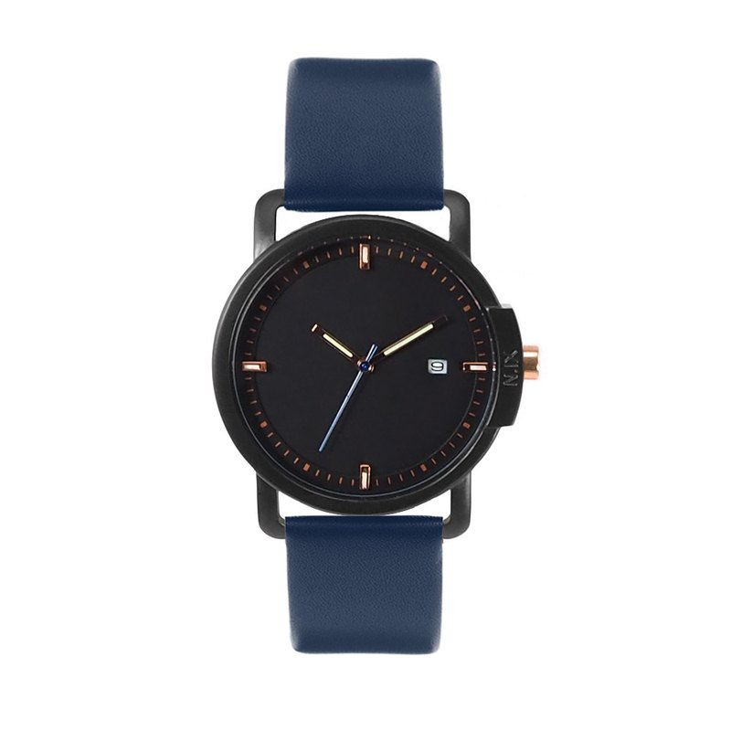 Minimal Watches: Ocean Project - Ocean04-Navy.