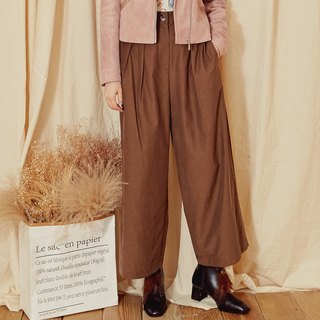 MIT texture discount wide pants (R6029C)