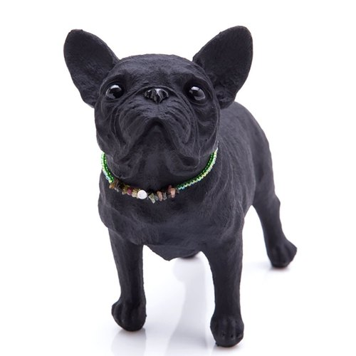 Japan built the staff person Pet charcoal decoration - French Bulldog