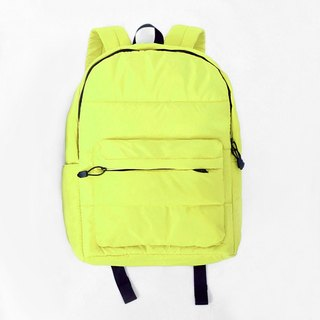Backpack (large). ╳ yellow black