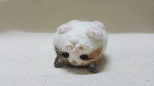 Wool felt fat cat series cat insect decoration ~ This version can be special ordered in advance interrogation Oh! (Now until 8/31 the whole museum full 599 shipped free, full 699 and then enjoy the added attention redeem 10 yuan promotions Oh !!)