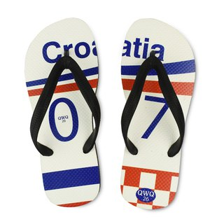 QWQ creative design flip-flops - Croatia - male [limited]