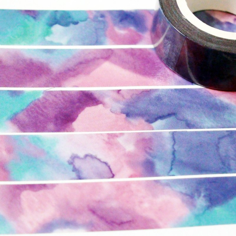 Sample Washi Tape Sunset
