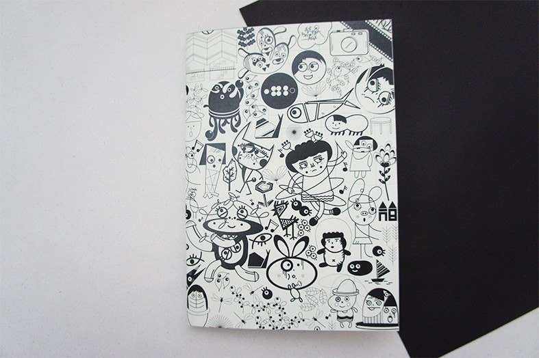 No114 Notebook - Black No. 4