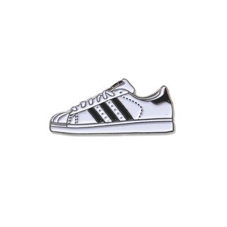 Black Superstar Pin
