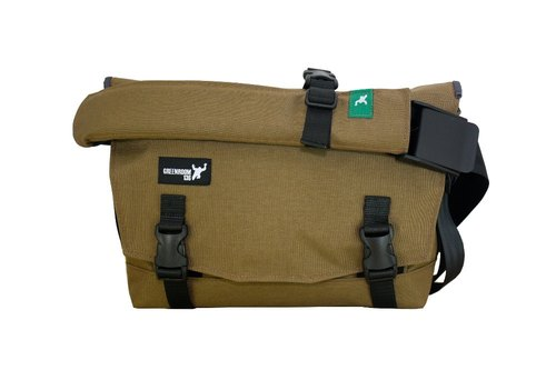 Greenroom136 - Bootstrap - Messenger Laptop Bag - Brown - Small