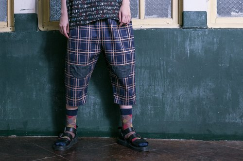Wide pants plaid patch (the last one left)