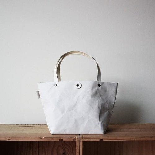Leather hand tote (S)