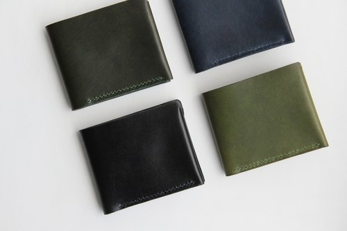 Leather Wallet – Navy,Black