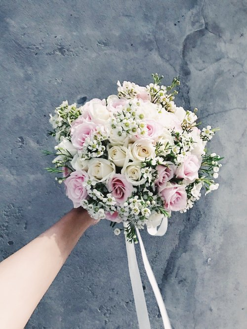 Fresh Flower Bouquet !!!! [Aphrodite Di Aphrodite] bouquet wedding bouquet of flowers