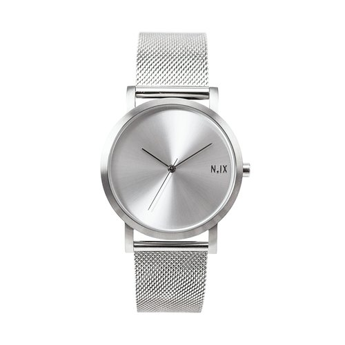 Minimal Watches: Metal Project Vol.02 - Silver Mesh.