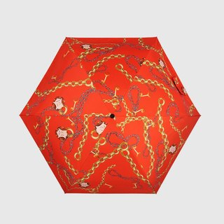 [Germany kobold] UV-resistant mushroom head series -6K ultra-light shade sunscreen umbrella - Emma orange