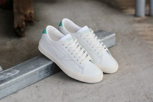TOUCH GROUND 韓國復古手工波鞋 VINTAGE TENNIS SNEAKERS GREEN P00000IV