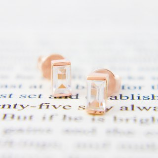 Goody Bag - (1+1) 3:am 18K Gold Plated Topaz Silver Earrings & Rings Rose Gold