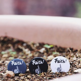 Faith - badge