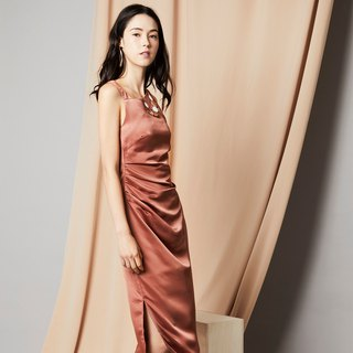 Toga Draped Midi (Copper)