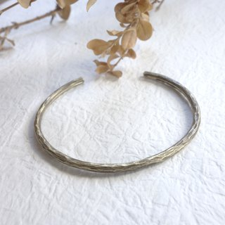 Brass - Forged Knock Bracelet