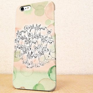 (Free shipping) iPhone case GALAXY case ☆ Friends of the cat