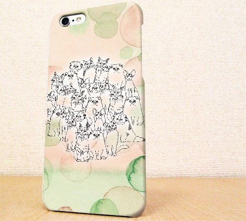 (Free shipping)iPhone case GALAXY case ☆ Friends of the cat