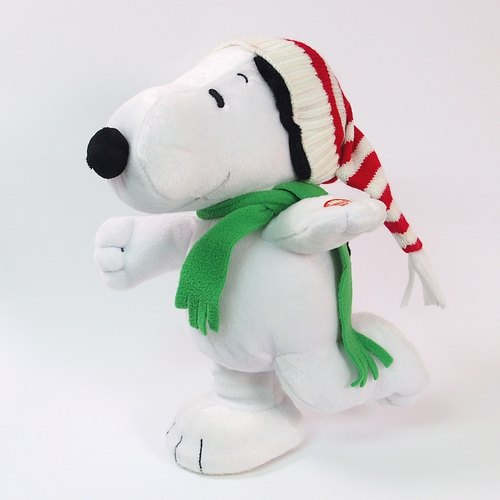 Snoopy fluff - Christmas slide (will move)