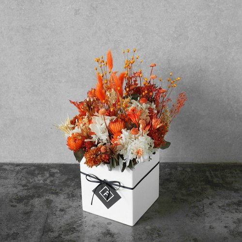 [Flowers for FORi Flower] harvest season - dry table flowers - sunshine