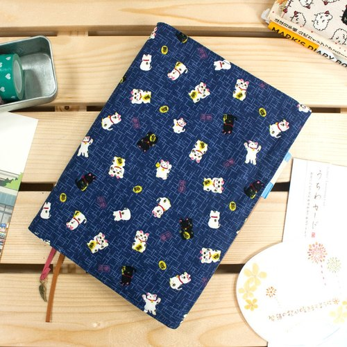 A5 / 25K adjustable multi-functional clothes book / cloth slipcase -A6 move money meow