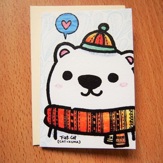 Universal Small Card - Polar Bear