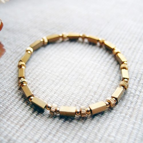 ♦ ViiArt ♦ set fan XV ♦ brass bracelet