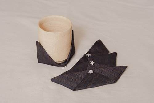 KIMOKOMO Japanese style accessory coasters with kimono cloth