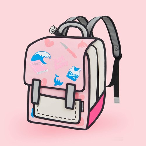 JumpFromPaper Art Baby Backpack
