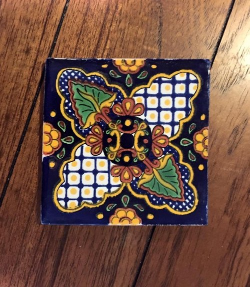 Additional replenishment! Spanish-style hand-painted ceramic tiles O subsection (a total of 25 models)