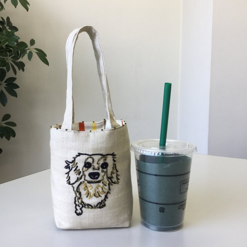 Cafe bag dachshund Long Minitoto