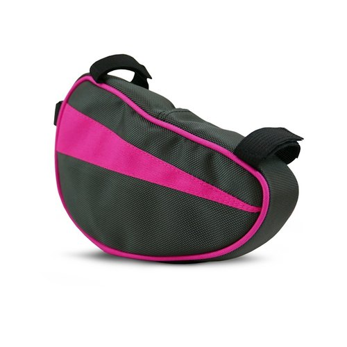 Walco PINK Bicycle triangle bag pink subsection (gray powder)