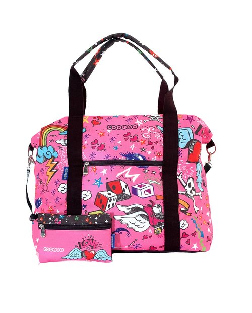 COPLAY  travel bag-pink punk