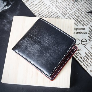 MISTER British Mackerel Wallet [Hand-stitched wallet] Customized lettering