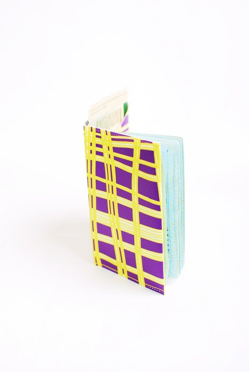 grid. Geometric Passport Case