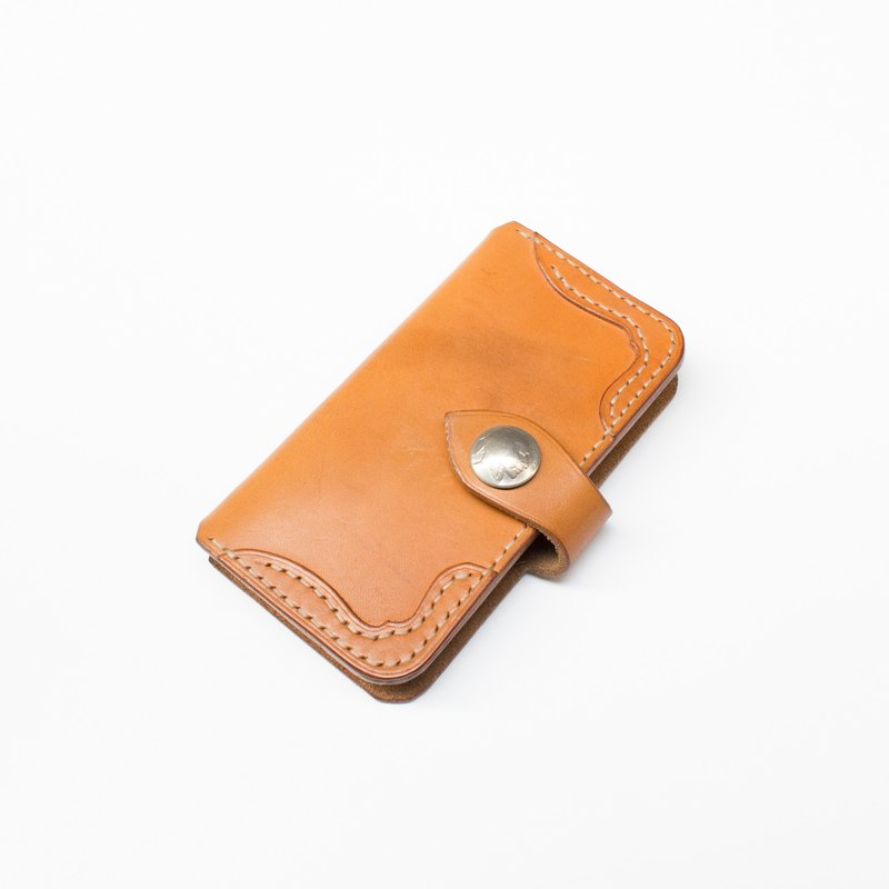 Handmade leather I Phone6 ​​/ 6s phone holster bananas cat. BananaCats