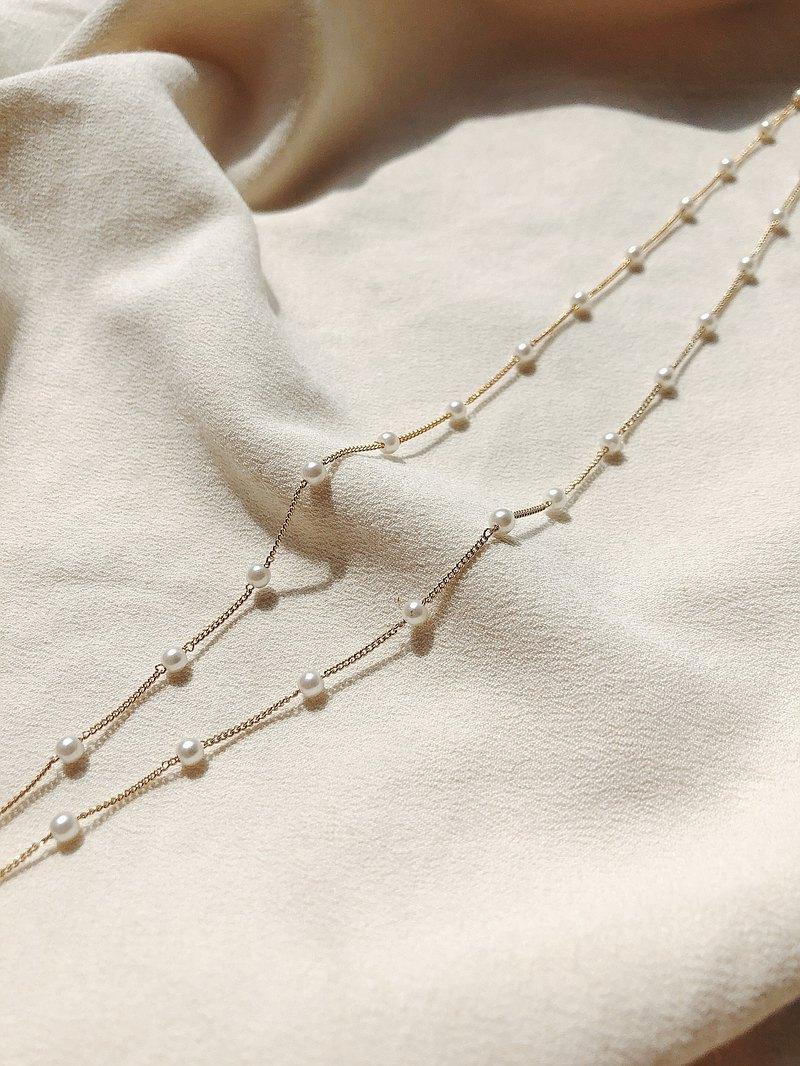 生活儀式感 珍珠 口罩鏈  項鍊 眼鏡鍊 防疫  手鍊