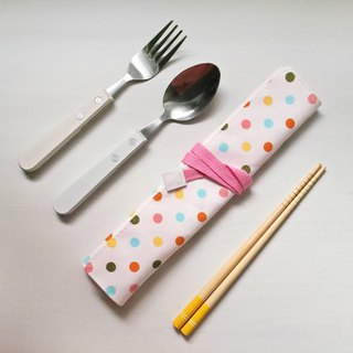Hairmo color little environmental protection chopsticks set / tableware bag / pencil case
