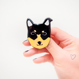 Pet Gamble Animal Series / Mickey い ぬ dog pin / brooch