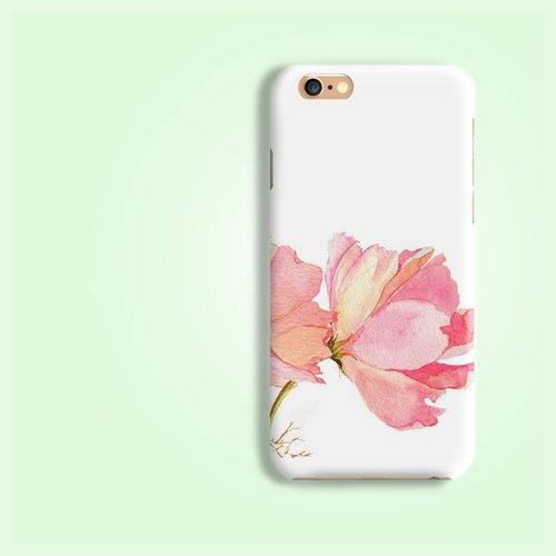 Pink Carnation Flower pattern rigid hard Phone Case Cover  for iPhone 4 4S 5 5S SE 6 6S 7 Plus Samsung Galaxy S6 S7 edge Note HTC LG Nexus HTGNP20