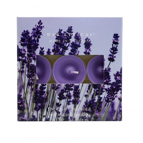 British candle MIE series of small British lavender candles 9 into