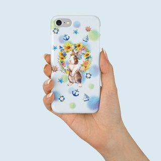 "Phone Case ""Mid-Summer Rabbit"" design by Maruco小畫室 A049CC001"