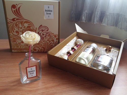 Building Scent Fragrance Essence Gift Box - Rose Sweetheart Rose Baby