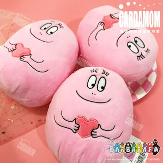 [BARBAPAPA Mr. Bubble] Cute Q version Down Fur Dolls/卡A International Genuine Authorized