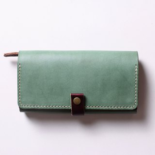 Rose hand clip leather hand leather wallet leather leather