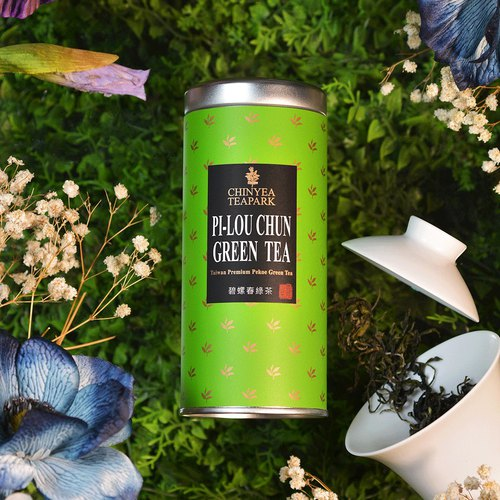 [Chinyea Teapark] Pilou-Chung Green Tea 30g (loose tea) –High Quality Taiwan Natural Tea