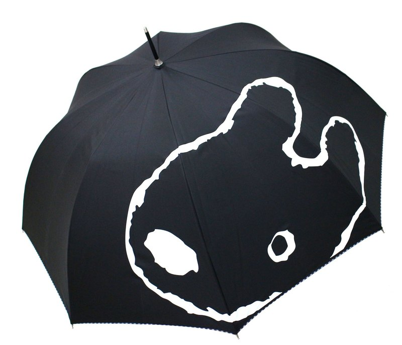 """Lisa and Caspian"" anti-UV straight umbrella - Caspian (black)"